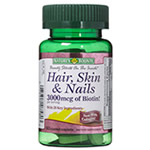 Best vitamins for hair growth - Hair Skin and Nails from Nature's Bounty