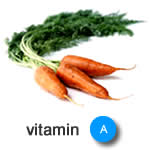 best vitamins for hair growth - vitamin A image