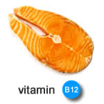Best vitamins for hair growth - vitamin B12 image