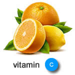 best vitamins for hair growth - vitamin C image