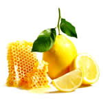 natural remedies for constipation - honey and lemon juice image