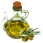 natural remedies for constipation - olive oil treatment image