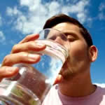 natural remedies for headaches - water drinking