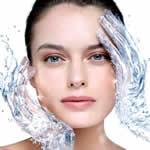 skin care routine - skin moisturizing image