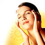 skin care routine - sun protection image