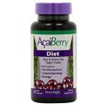 acai_berry_diet - Natrol acai berry diet dietary supplement capsules image