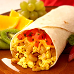 Healthy meals on a budget - Breakfast burritos image
