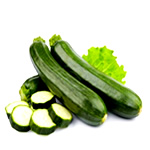 Healthy foods to lose weight - zucchini image