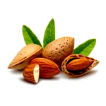 Healthy foods to lose weight - almonds image