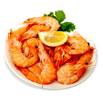 Healthy foods to lose weight - shrimp image