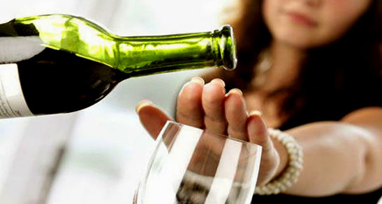 How to cleanse your liver - avoid alcohol image