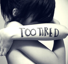 Why am I always tired - too tired image