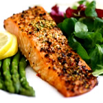 Healthy Recipes For Rapid  Weight Loss - salmon with olives image