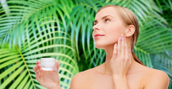 Organic skin care products - article head image