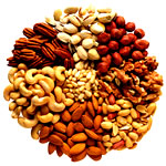 Vitamins for nails - nuts image