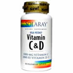Vitamins for nails -  Vitamins C &D image