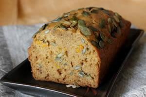 Healthy pumpkin recipes - Pumpkin bread image