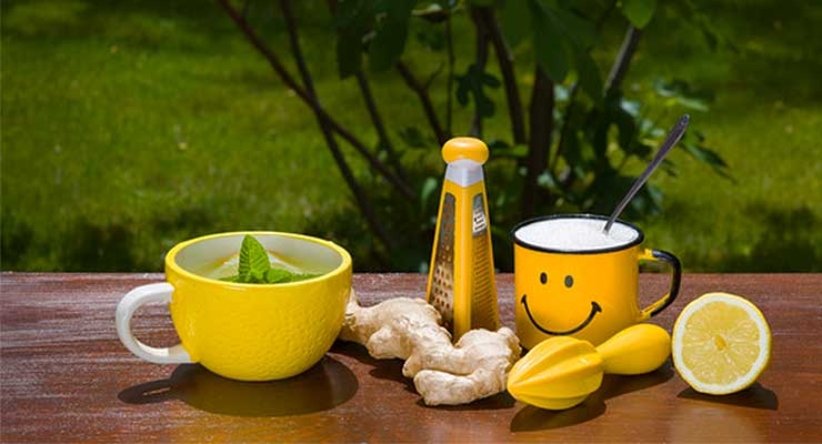 Ginger tea benefits - article head image
