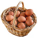 10 Foods High In Protein - eggs image
