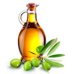 Hot oil treatment against dandruff - olive oil image