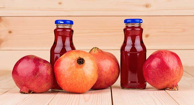 Benefits Of Pomegranate Juice - article head image